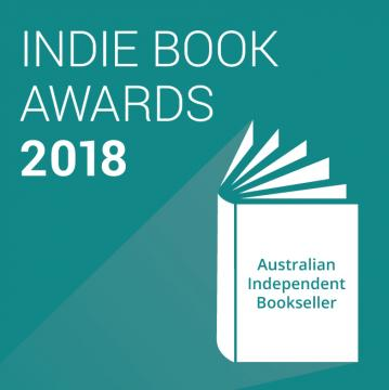 Indie Book Awards 2018 Square Teal